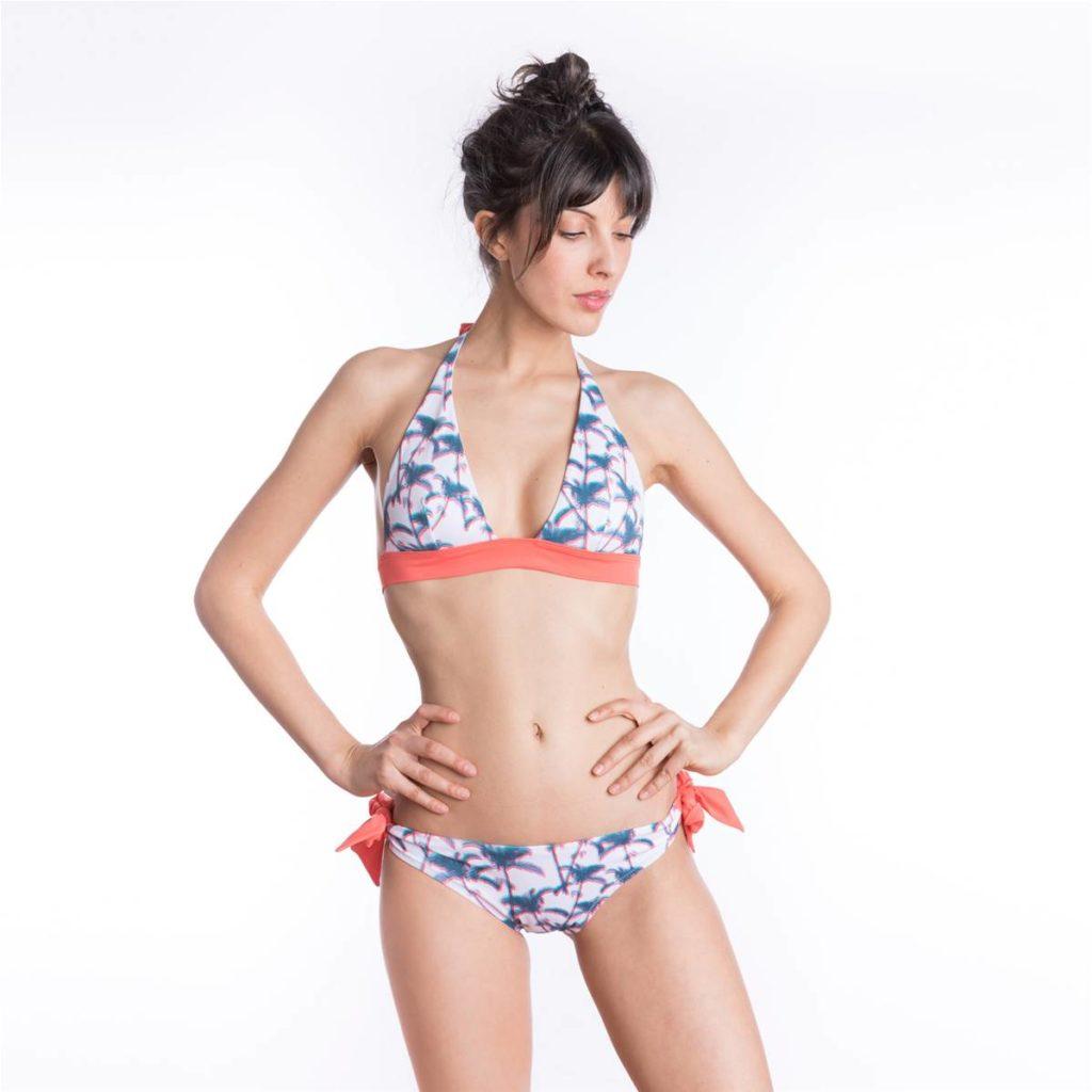 La Nouvelle bikini palmiers ecoresponsable