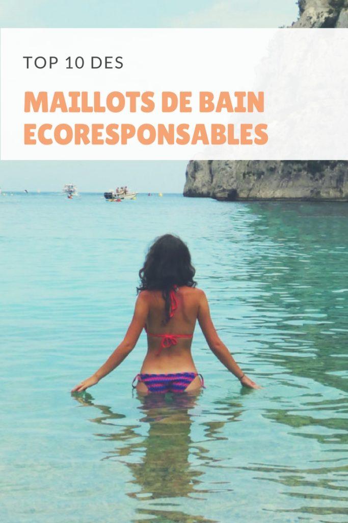 maillots de bain ecoresponsable