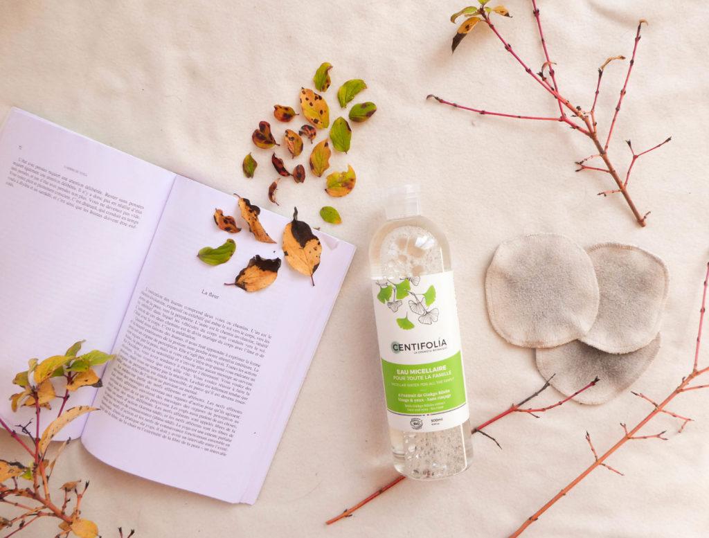 favoris green septembre eau micellaire bio