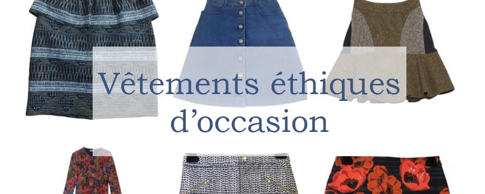 vêtements éthiques occasion