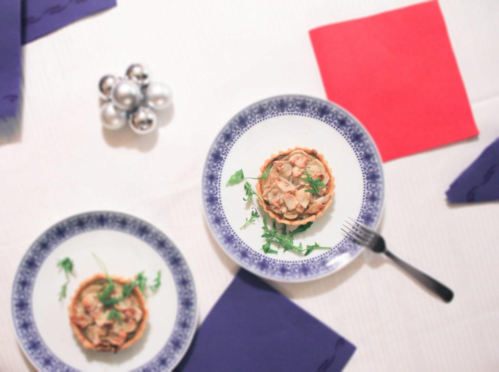 menu reveillon vegane