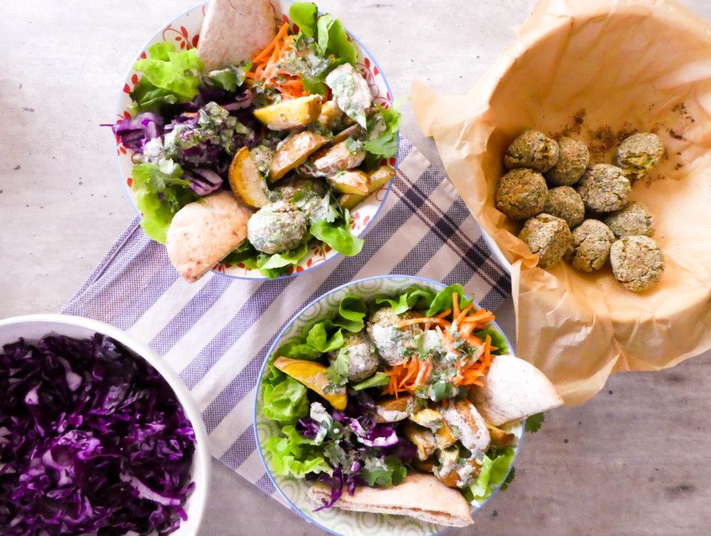 falafels au four vegan facile
