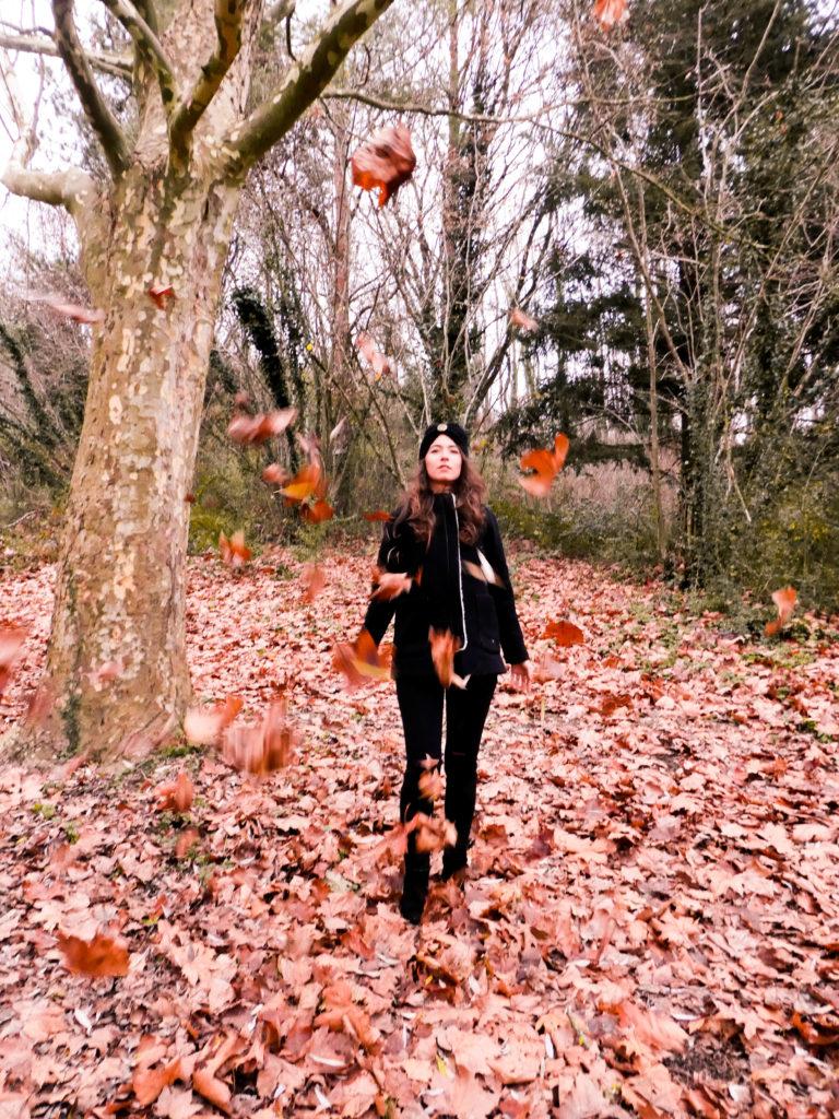 automne look éthique laine recyclée