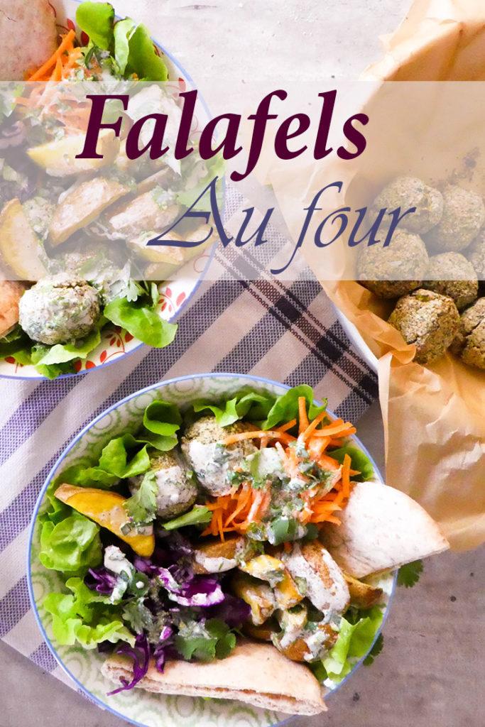Falafels au four