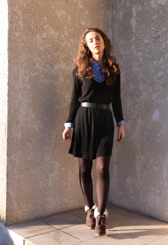 Garde-robe capsule   7 façons de porter une petite robe noire ... 0443ff6151e
