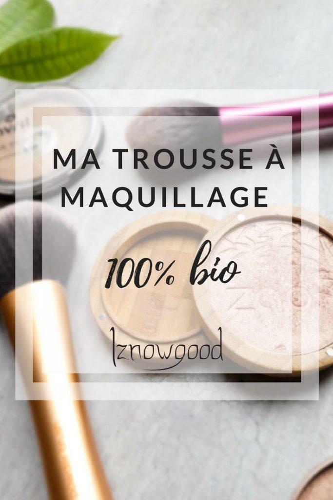Maquillage 100% bio