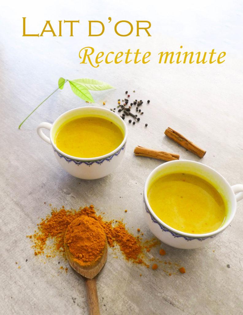 lait d'or recette