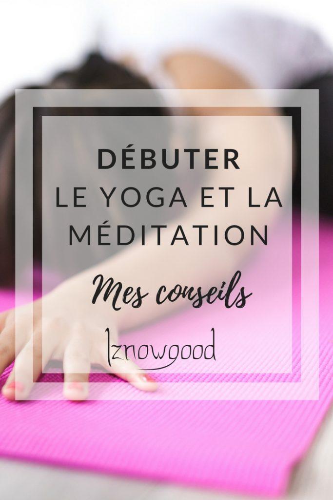 Debuter yoga meditation