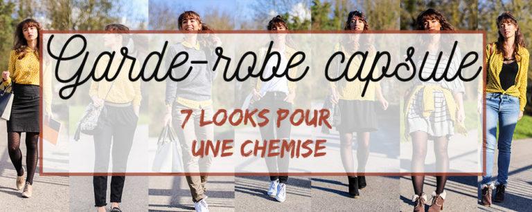 garde robe capsule 7 look 1 chemise