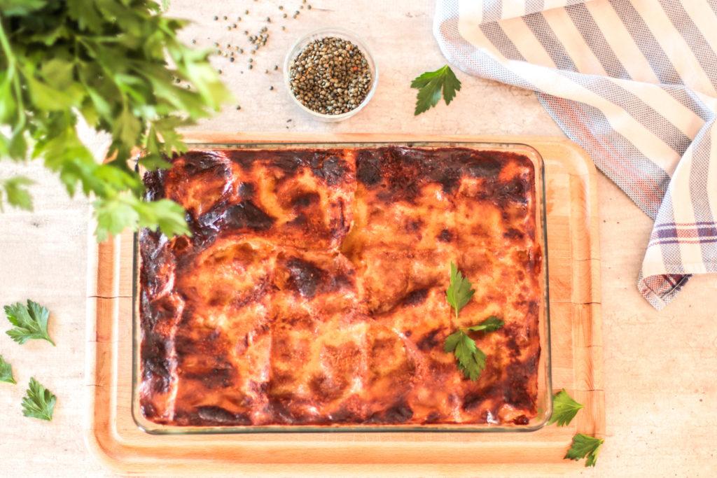 lasagnes vegan