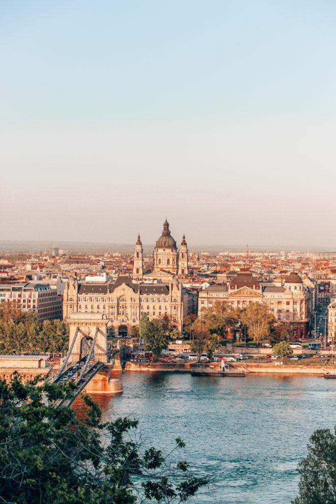 budapest voyager sans avion