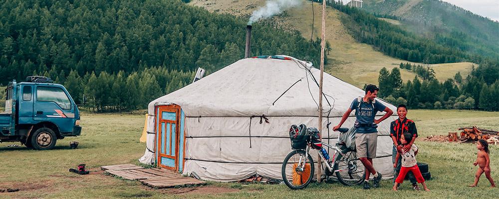 Mongolie a velo