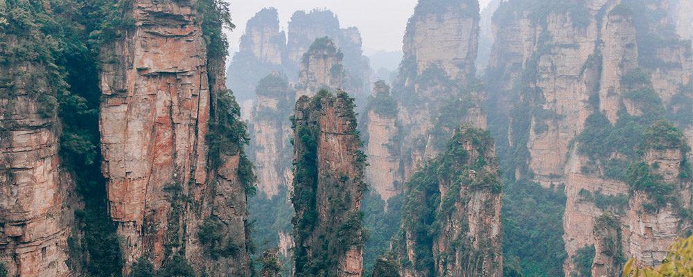 parc zhangjiajie