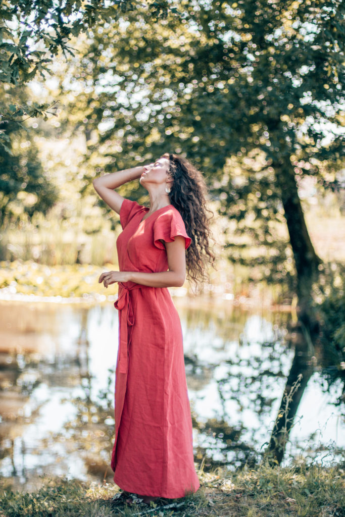 robe en lin éthique